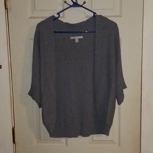 Old Navy Gray Long Sweater Shrug XL
